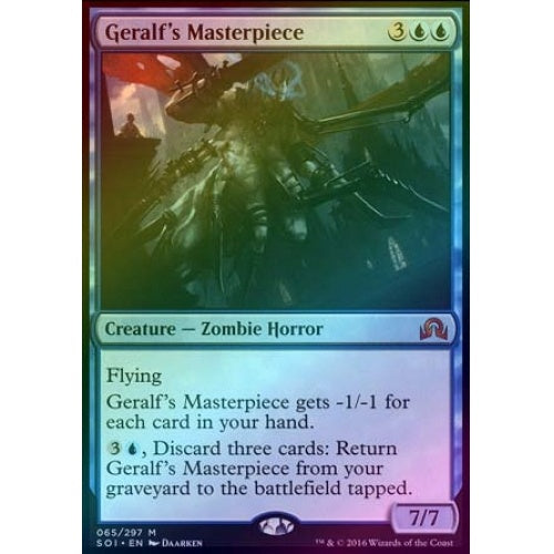 Geralf's Masterpiece (Foil) - 401 Games