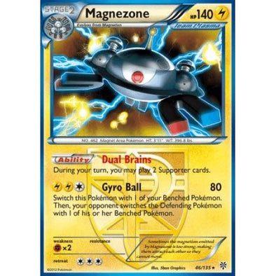 Magnezone - 46/135 - Reverse Foil (PLS046R) available at 401 Games Canada