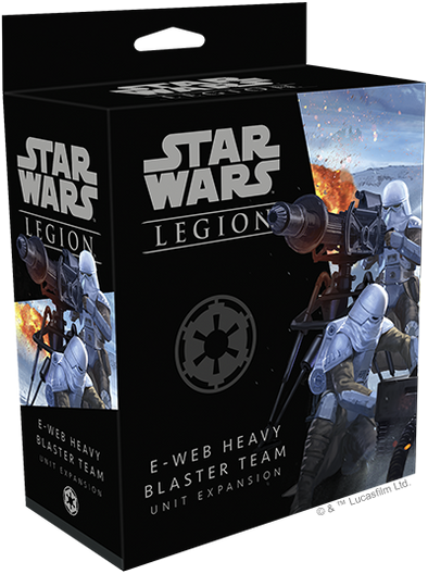 Star Wars - Legion - Imperial - E-Web Heavy Blaster Team