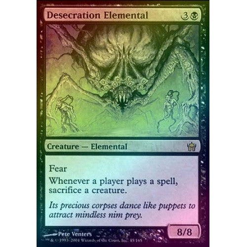 Desecration Elemental (Foil) (5DN) available at 401 Games Canada