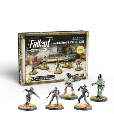 Fallout - Wasteland Warfare - Robots - Assaultrons & Protectrons available at 401 Games Canada