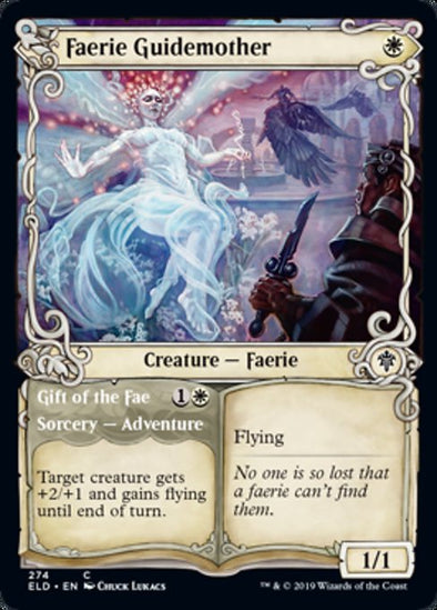 Faerie Guidemother // Gift of the Fae (Showcase Frame) (ELD) available at 401 Games Canada