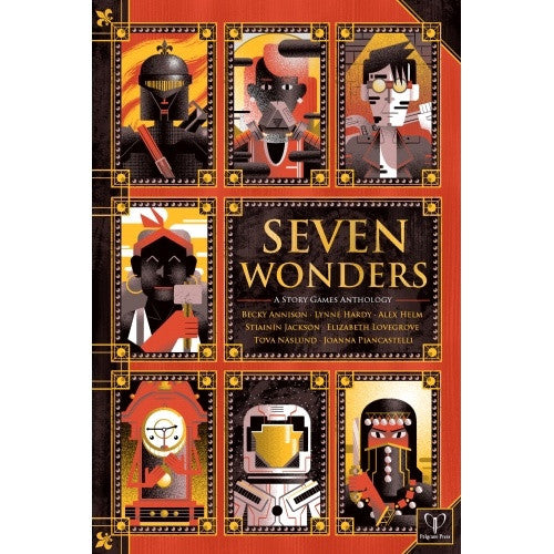 Buy Seven Wonders: A Story Games Anthology - Core Rulebook and more Great RPG Products at 401 Games
