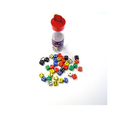 Buy Dice Set - Tiny D6 Set - 30 x 5mm - Opaque and more Great Dice Products at 401 Games