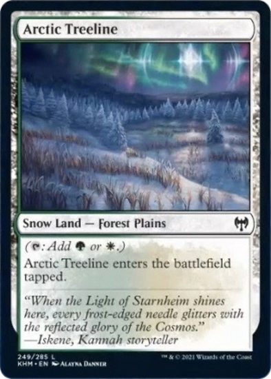 Arctic Treeline (KHM) (Pre-Order: 2021-02-05) available at 401 Games Canada