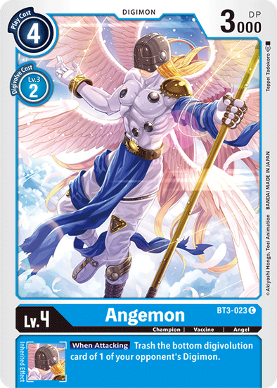 Angemon (BT3-023) available at 401 Games Canada