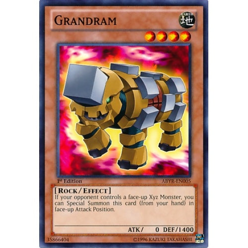 Grandram (ABYR) available at 401 Games Canada
