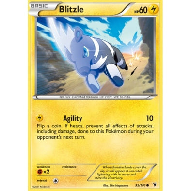 Buy Blitzle - 35/101 and more Great Pokemon Products at 401 Games