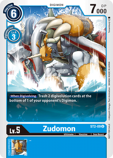 Zudomon - Alternative Art (ST2-09) available at 401 Games Canada