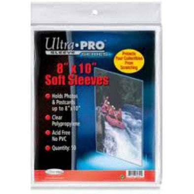 Buy Ultra Pro - Soft Sleeves 50ct - 8x10 and more Great Sleeves & Supplies Products at 401 Games