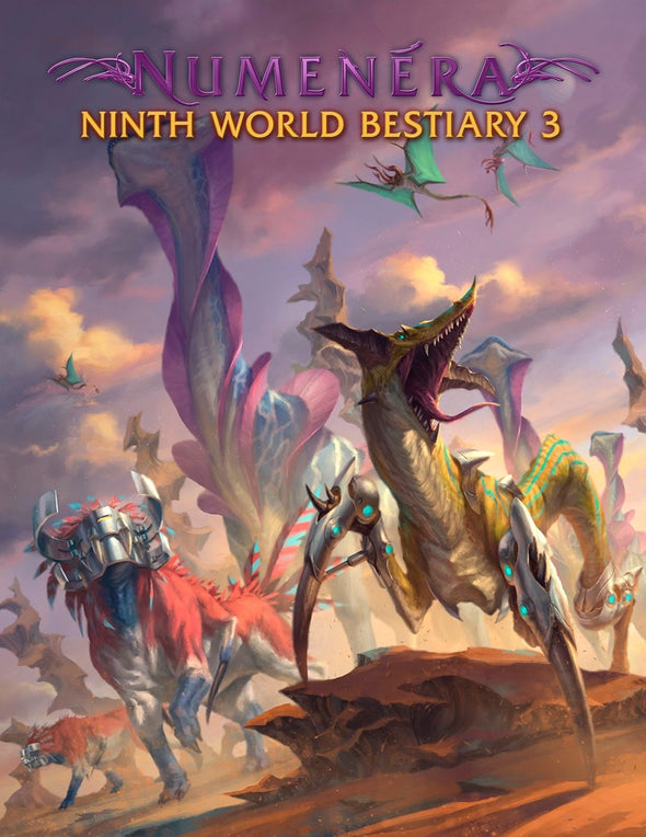 Buy Numenera - The Ninth World Bestiary 3 and more Great RPG Products at 401 Games