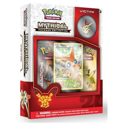 Buy Pokemon - Mythical Collection Victini (Generations) and more Great Pokemon Products at 401 Games