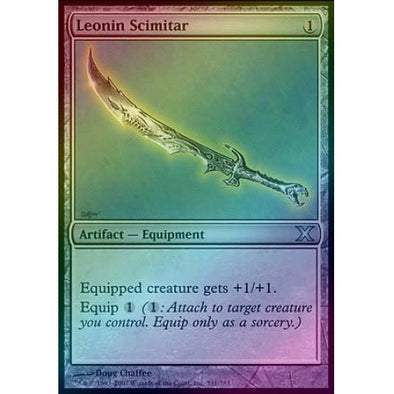 Leonin Scimitar (Foil) available at 401 Games Canada