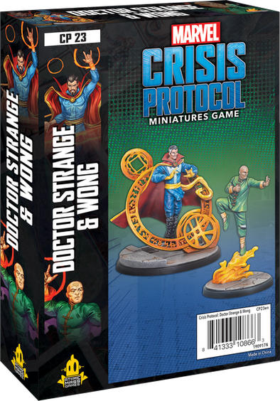 Marvel Crisis Protocol - Dr Strange and Wong - 401 Games