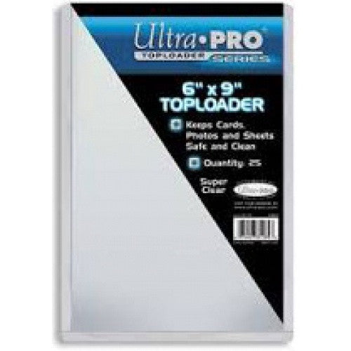 Ultra Pro - Toploader 25ct - 6x9 - 401 Games