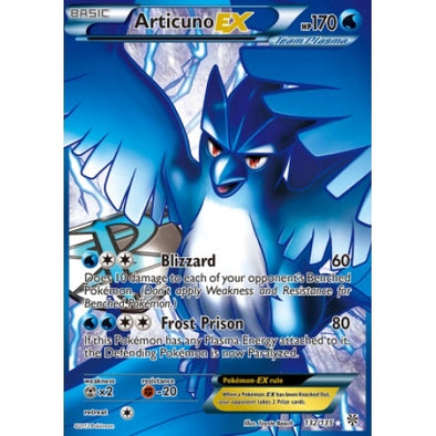Articuno-EX - 132/135 - Full Art - 401 Games