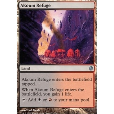 Akoum Refuge (C13) available at 401 Games Canada