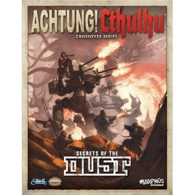 Buy Call of Cthulhu - Achtung! Cthulhu Crossover Series - Secrets of the Dust and more Great RPG Products at 401 Games