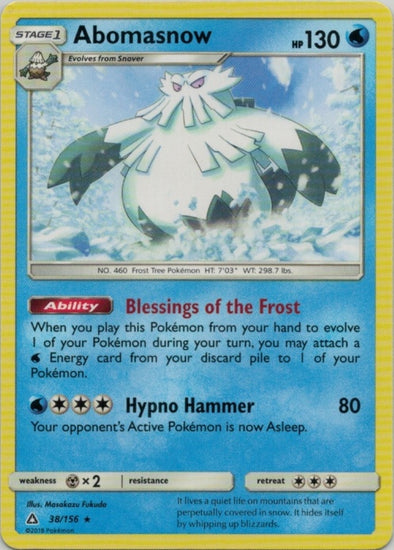 Buy Abomasnow - 38/156 and more Great Pokemon Products at 401 Games
