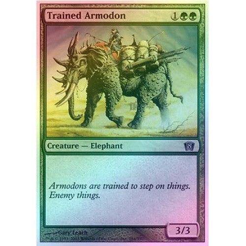 Trained Armodon (Foil) available at 401 Games Canada