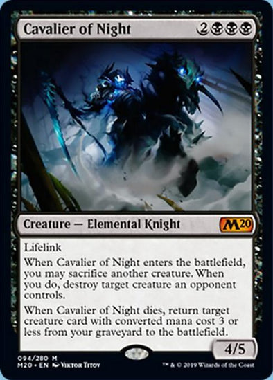 Cavalier of Night (M20) - 401 Games
