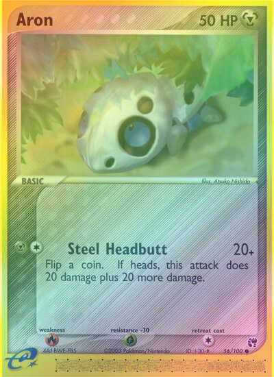 Aron - 56/100 - Reverse Foil (SST056R) available at 401 Games Canada