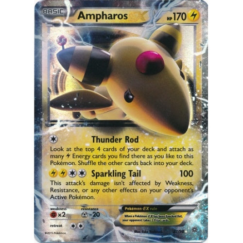 Buy Ampharos-EX - 27/98 and more Great Pokemon Products at 401 Games