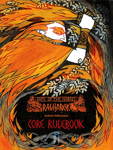 Fate of the Norns: Ragnarok - Core Rulebook (Premium Hardcover) - 401 Games