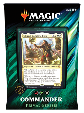 MTG - Commander 2019 - Primal Genesis available at 401 Games Canada
