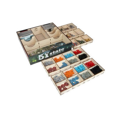 The Broken Token - 51st State - Box Organizer - 401 Games
