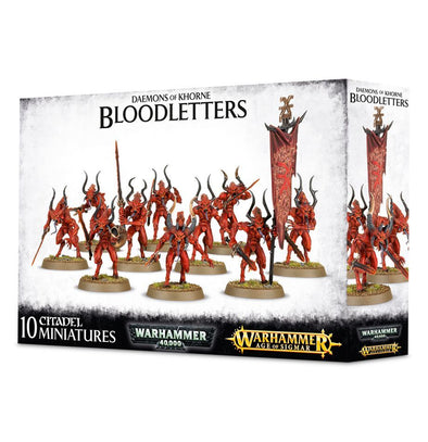 Warhammer - Age of Sigmar - Daemons of Khorne - Bloodletters - 401 Games