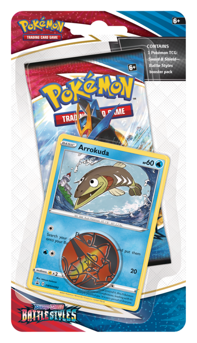 Pokemon - Battle Styles - Checklane Blister - Arrokuda (Pre-Order March 19th, 2021) available at 401 Games Canada