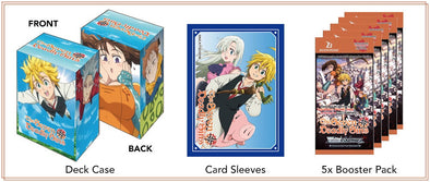 Weiss Schwarz - The Seven Deadly Sins Supply Set (Pre-Order) available at 401 Games Canada