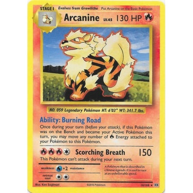 Buy Arcanine - 18/108 and more Great Pokemon Products at 401 Games
