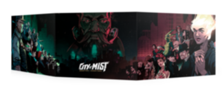Buy City of Mist - Master of Ceremonies Screen (Pre-Order) and more Great RPG Products at 401 Games