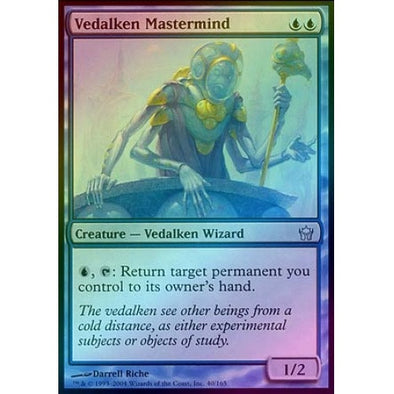 Vedalken Mastermind (Foil) (5DN) available at 401 Games Canada