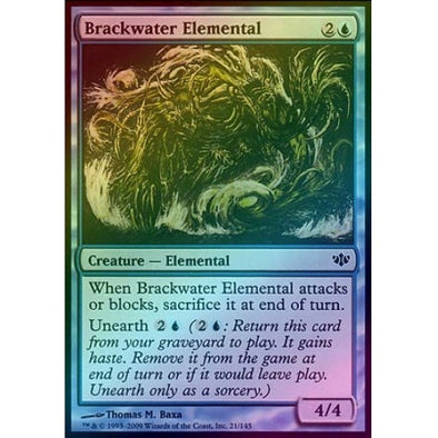 Brackwater Elemental (Foil) (CON) available at 401 Games Canada