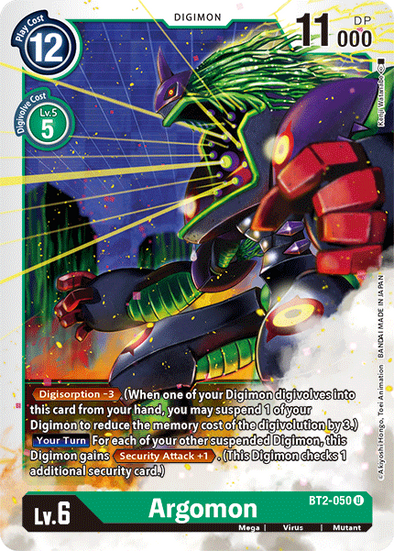Argomon (BT2-050) available at 401 Games Canada