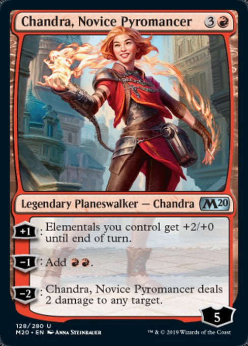 Chandra, Novice Pyromancer (M20)