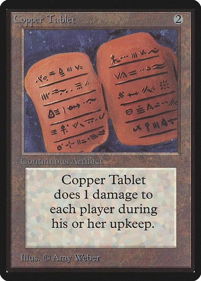 Copper Tablet (LEB) available at 401 Games Canada