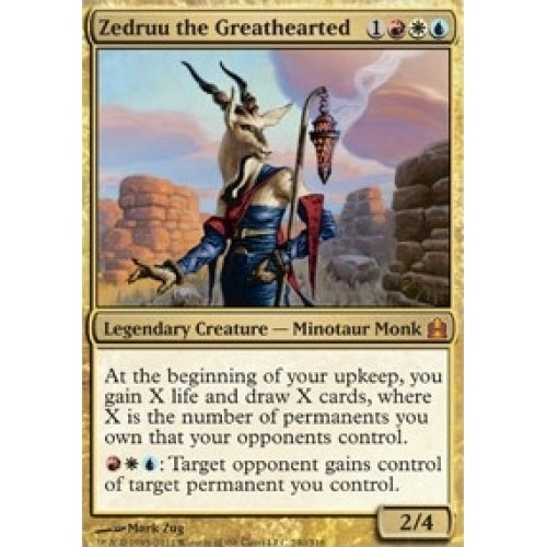 Zedruu the Greathearted (CMD) available at 401 Games Canada
