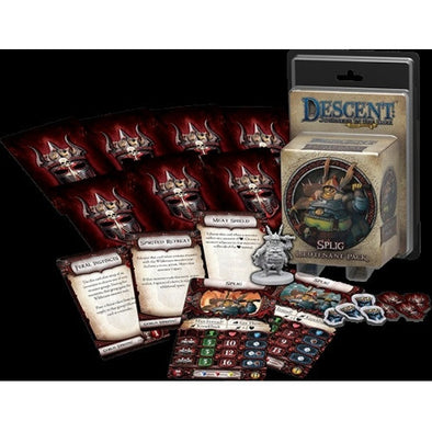 Descent - 2nd Edition - Splig Lieutenant Pack - 401 Games
