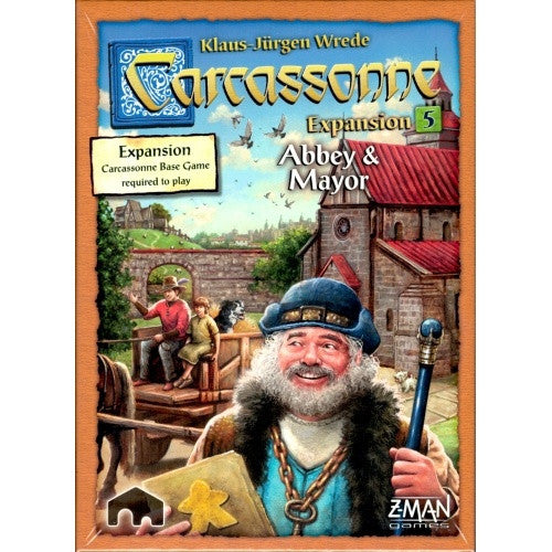 Carcassonne - Abbey & Mayor (New Edition) - 401 Games