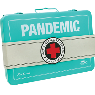Buy Pandemic - 10th Anniversary Edition and more Great Board Games Products at 401 Games