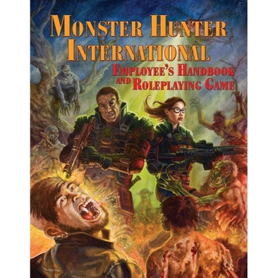 Monster Hunter International Employee Handbook and Roleplaying Game - Core Rulebook - 401 Games