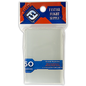 Fantasy Flight Supply - 50ct Mini European 44mm x 68mm Sleeves
