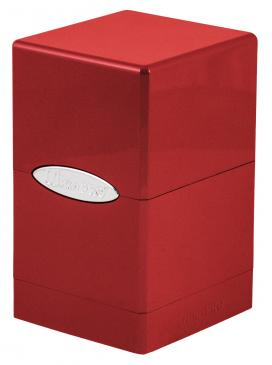 Ultra Pro - Deck Box 100+ Satin Tower - Hi-Gloss Fire available at 401 Games Canada
