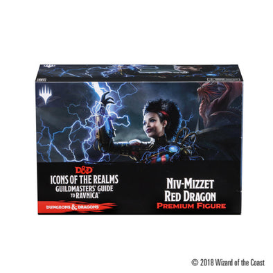 Buy Dungeons and Dragons Minis - Icons of the Realms: Guildmaster's Guide to Ravnica Case Incentive - Niv-Mizzet and more Great RPG Products at 401 Games