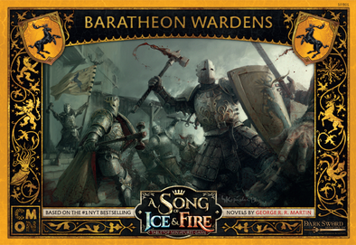 A Song of Ice and Fire - Tabletop Miniatures Game - House Baratheon - Wardens