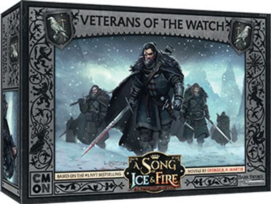 A Song of Ice and Fire - Tabletop Miniatures Game - Night's Watch - Veterans of the Watch  (Pre-Order-  September 6, 2019)